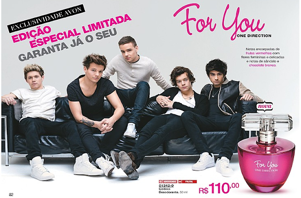 Perfume One Direction na Avon