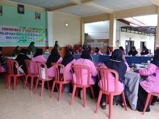 Kader Posyandu Desa Jambearum Ikuti Pelatihan Rumah Desa Sehat