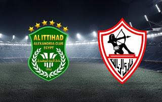 اون لاين مشاهدة مباراة الزمالك و الاتحاد السكندري ٢٣-٩-٢٠١٩ بث مباشر في الدوري المصري اليوم بدون تقطيع