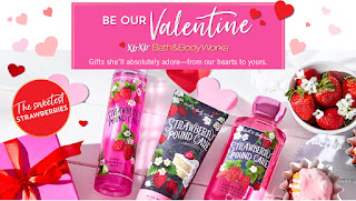 Bath & Body Works | Sweet On You Body Care Collection | January 2020 | A Perfect Valentine's Day Gift