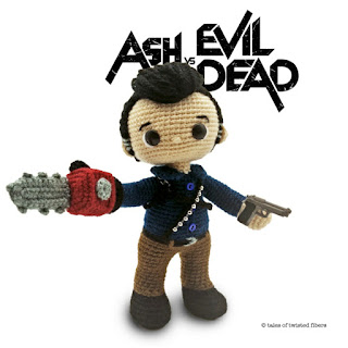 patron amigurumi Ash vs evil dead tales of twisted fibers