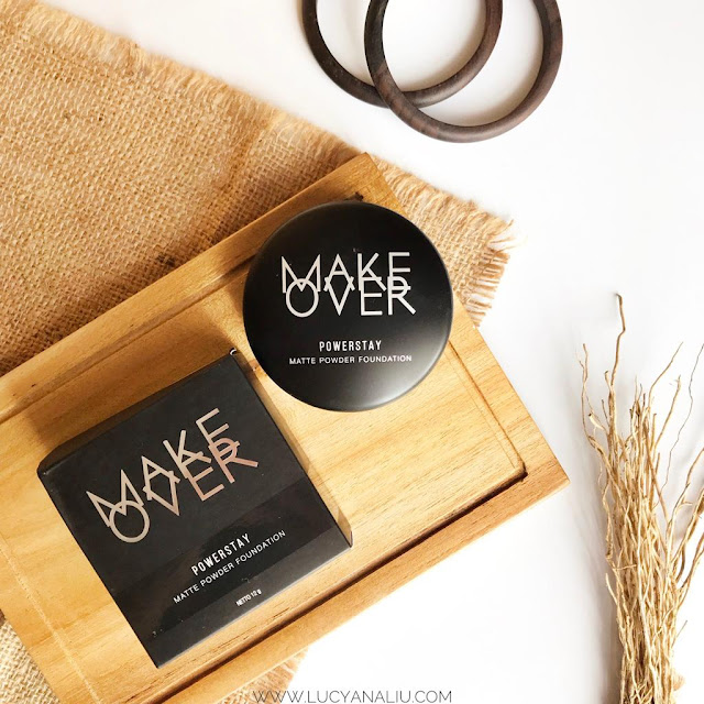Make Over Powerstay Matte Powder Foundation Review