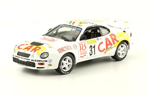 collezione rally monte carlo Toyota Celica GT-4 1999 Luca Pedersoli - Nadia Mazzon