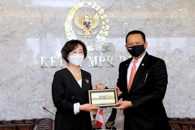 Bertemu Wakil Parlemen Korea Selatan. Bamsoet Berharap Ada Perhatian Khusus pada WNI yang Terkena Covid