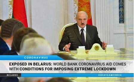 Banco Mundial / FMI descubiertos: la ayuda COVID está condicionada a la imposición de bloqueos extremos, toques de queda