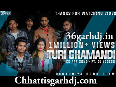 Turi Ghamandi (Ft.Dj Yogesh) Cg Rap Song 36garhdj.in Dj Psm Remix