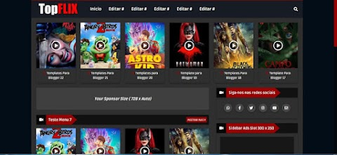 TopFlix Blogger Template Responsive