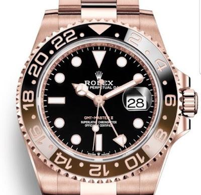Pajak Rolex (GMT-Masrer-II-Rose-Gold Dipajak RM80,000) - pajakrolex.com