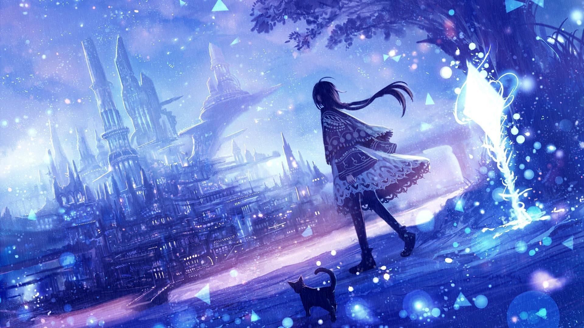 anime fantasy wallpaper