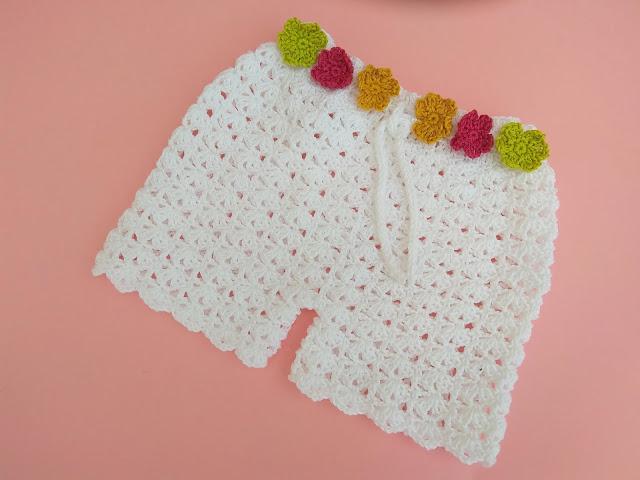 3 -Crochet Imagen Shorts de verano a crochet y ganchillo por Majovel Crochet