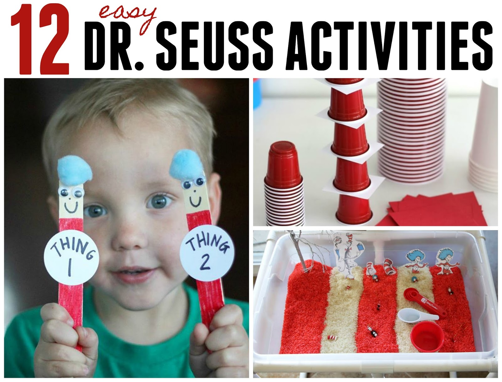 Toddler Approved 12 Easy Dr Seuss Activities For