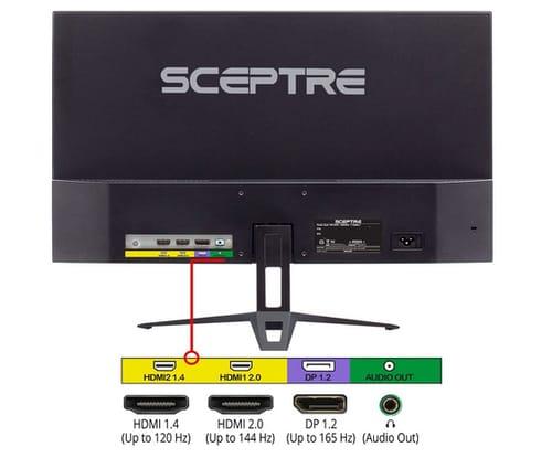 Sceptre E248B-FPT168S IPS 1080p Gaming Monitor