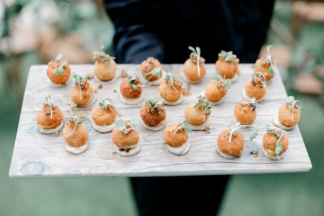 wedding cocktail appetizer