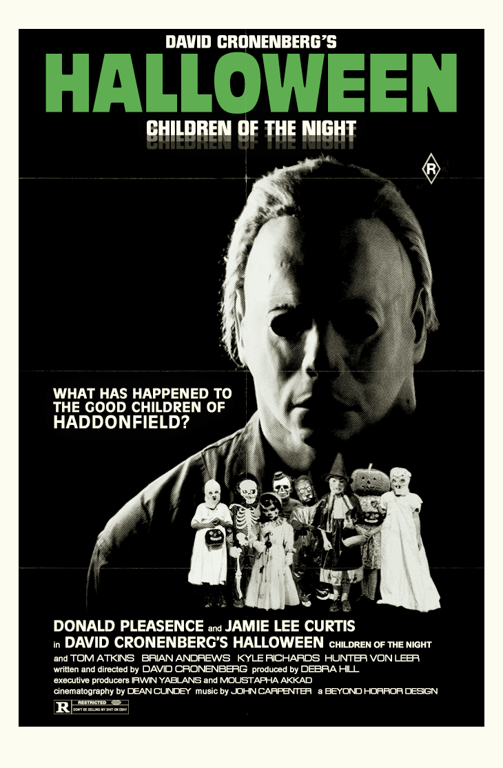The Horrors of Halloween: Alternate Universe HALLOWEEN Movie Posters
