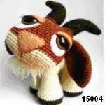 patron gratis cabra amigurumi, free pattern amigurumi goat