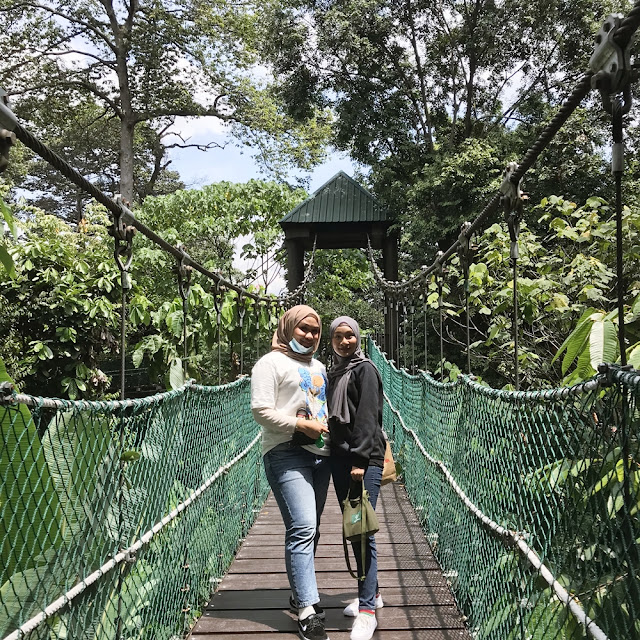 Lepak KL Forest Eco Park : Entri Bergambar