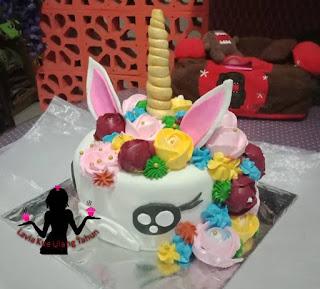 Kue Tart Tema Unicorn Pesan Dulu Baru Dikirim