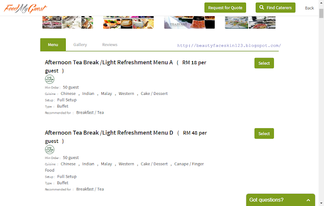 FEEDMYGUEST WEBSITE-ORDERING CATERERS IN MALAYSIA MADE EASY