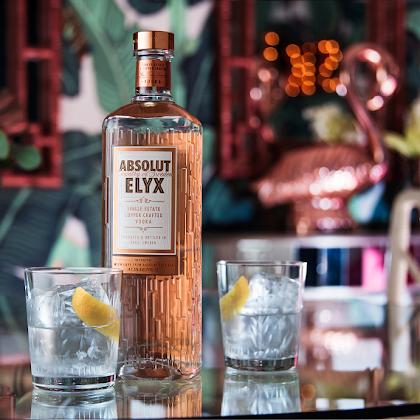 Absolut Elyx - Nova garrafa, o mesmo sabor.