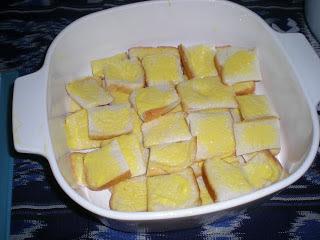 Resepi Puding Roti (Kukus dan Bakar)