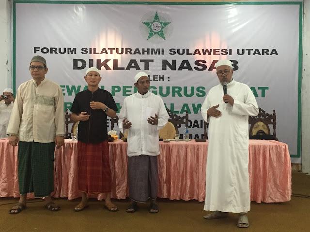 Pembentukan Rabithah Alawiyah Manado, Taufik Bilfagih: Bina Ummat dan Advokasi Ba'alawi