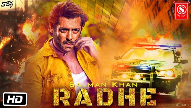 Radhe new upcoming movie first look, Poster of Salman, Disha and Randeep next movie download first look Poster, release date