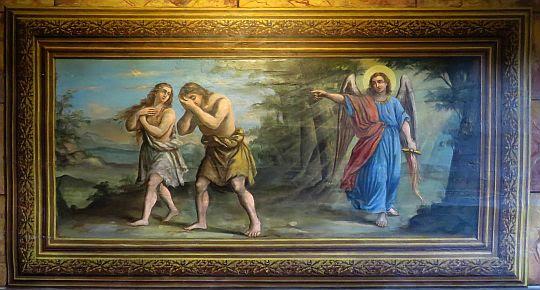 Wypędzenie Adama i Ewy z Raju.