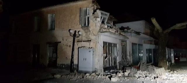 Σεισμός 5,6 Ρίχτερ στην Πάργα με 3 τραυματίες και ζημιές σε σπίτια