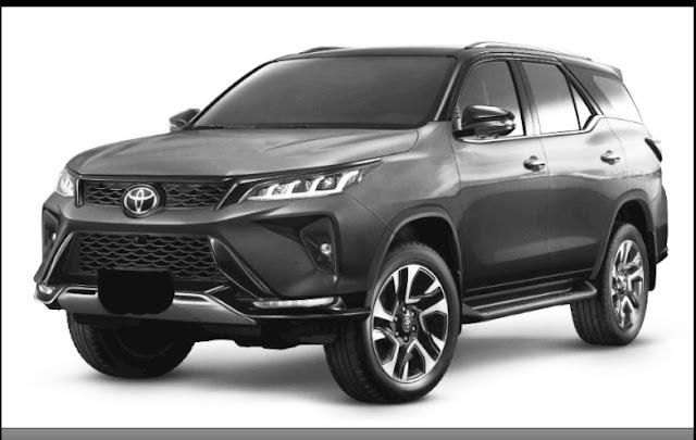 Toyota Fortuner legender has launch in Thailand automarket.