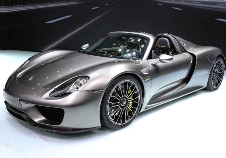Gambar Mobil Termahal Di Dunia - Porsche 918 Spyder