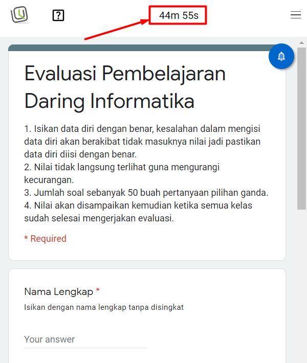 Membuat Soal Ujian Di Google Form Dengan Batas Waktu Bli Komang