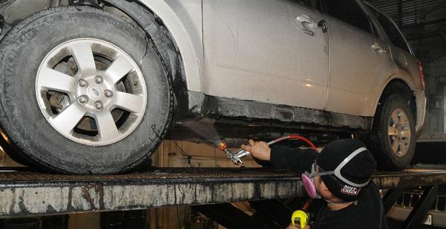 SOS για το αυτοκίνητό με το αλάτι στους δρόμους