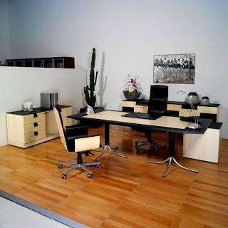 Revestimiento suelos oficinas modernas