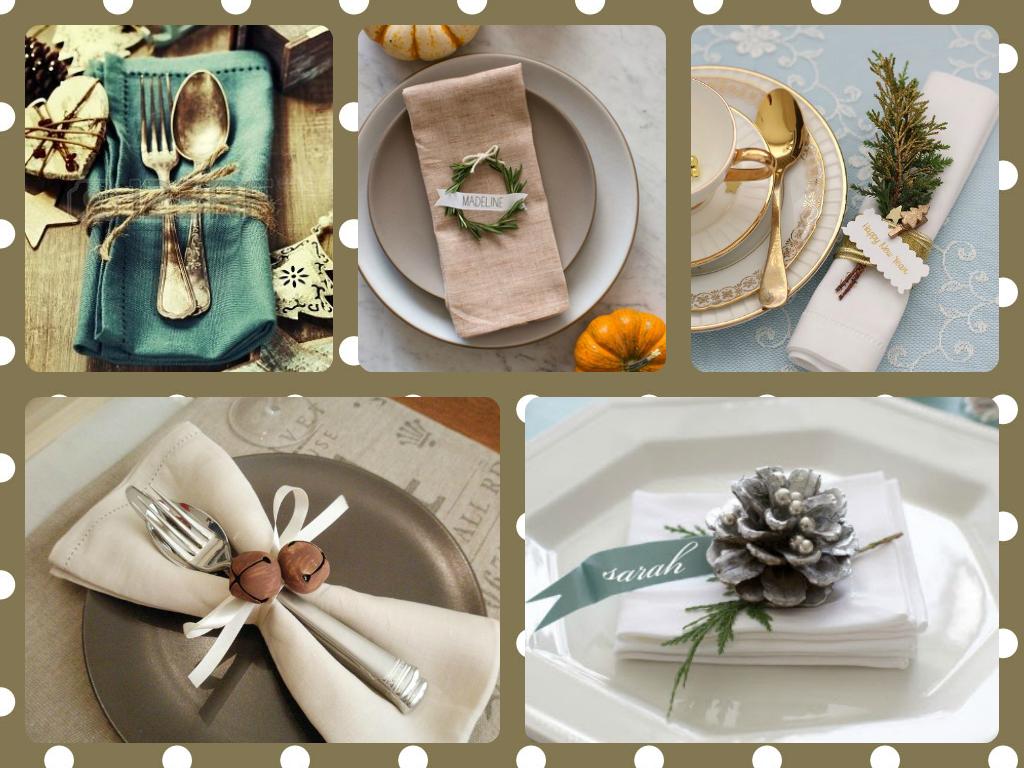 Pitis and lilus los lunes lo encontramos en pinterest - Decoracion navidena para la mesa ...