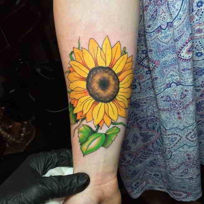60 Tatuajes De Girasoles Y Que Quieren Decir Belagoria La