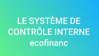 Le système de contrôle interne