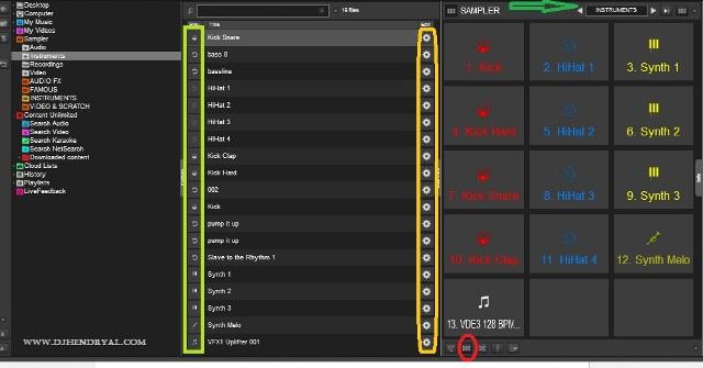 Cara menambah pad sampler baru virtualdj 8 | Hendry Al