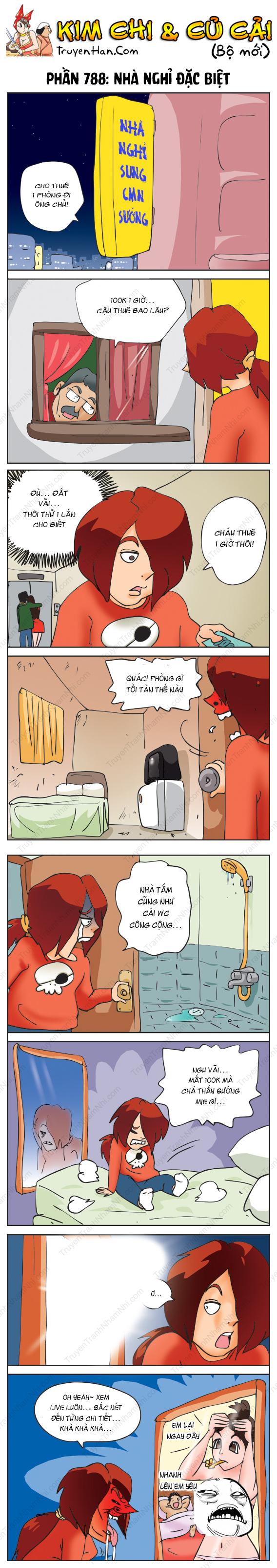 Kim Chi Và Củ Cải Phần 788: Nhà nghỉ đặc biệt