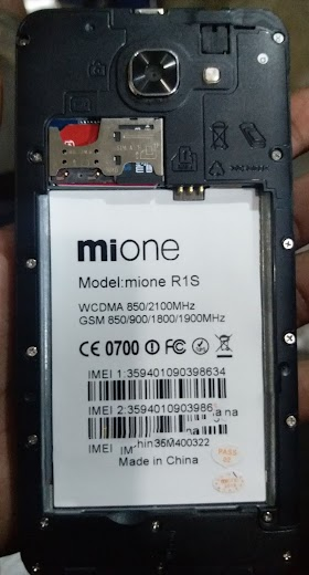 MIone R10 Flash File | Firmware | MT6580 5 1 Download Stock Rom