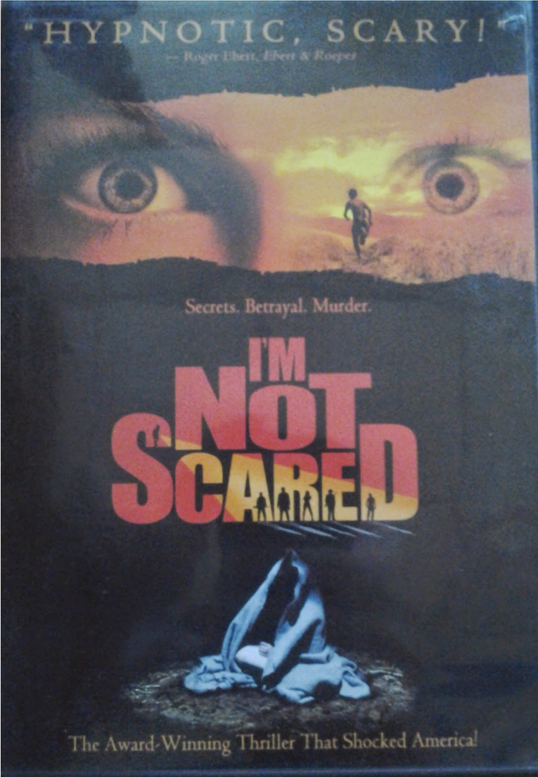 DVD Cover - I'm Not Scared