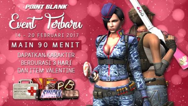 Event PB Garena 14 Februari 2017 Valentine 2017