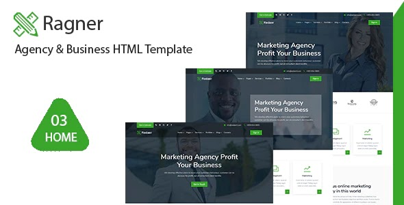 Agency & Startup HTML Template