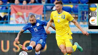 """Άλλη μια """"άτυχη"""" στιγμή για την ομάδα του Κωστένογλου. ΟΥΚΡΑΝΙΑ 4-0 ΚΥΠΡΟΣ"""