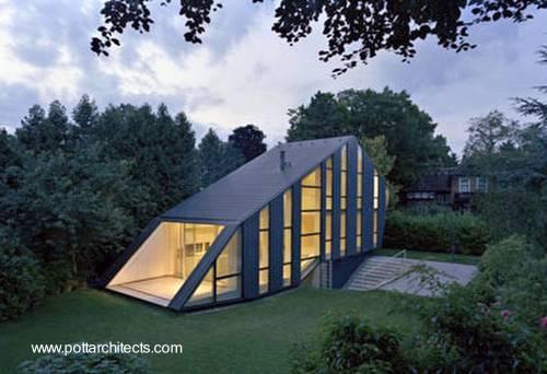 Casa residencial contemporánea de diseño vanguardista en Alemania