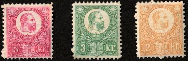 Hungary 1871-72 Franz Joseph