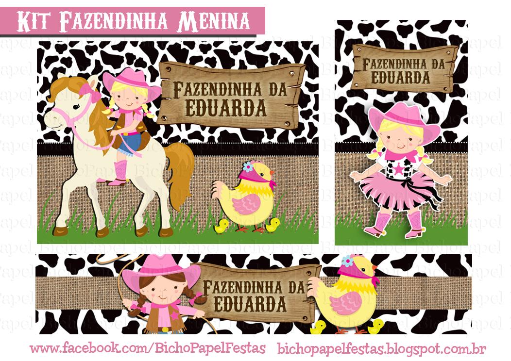 Kit Fazendinha menina
