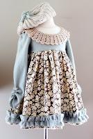 tutorial vestido de invierno para niña