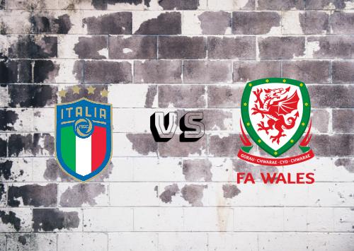 Italia vs Gales  Resumen y Partido Completo