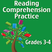 Reading comprehension practice app