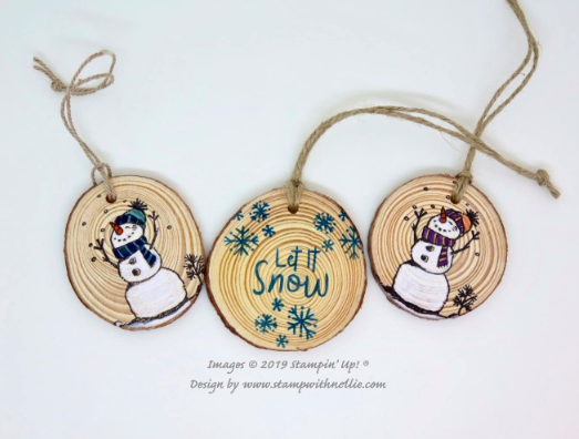 Nigezza Creates with Stampin' Up! & Stamp With Nellie & Snowman Season